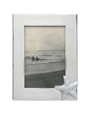 "Mariposa Starfish Picture Frame - Photo Size 4""x 6"""