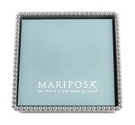 Mariposa Beaded Luncheon Napkin Box