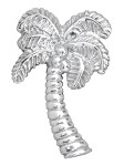 Mariposa Palm Tree Napkin Weight