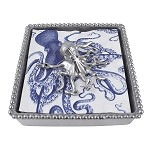Mariposa- Octopus Beaded Napkin Box